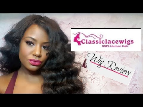 Classic Lace Wigs Chinese Loose Wave Update| Amanda Toliver