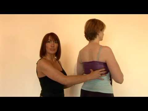 Pilates thoracic or lateral breathing