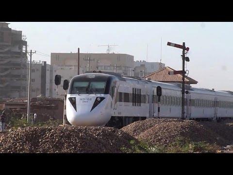 All aboard! Sudan's sleek new train a rarity