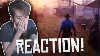 Red Dead Redemption II   Gameplay Trailer/Demo LIVE REACTION/Thoughts