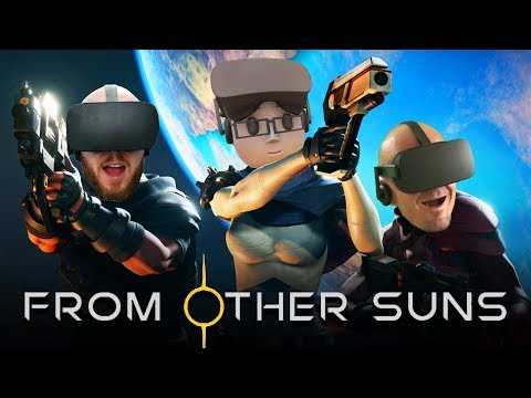 WE ARE THE SPACE MONKEYS!   From Other Suns VR Multiplayer Co-Op Oculus Rift Gameplay