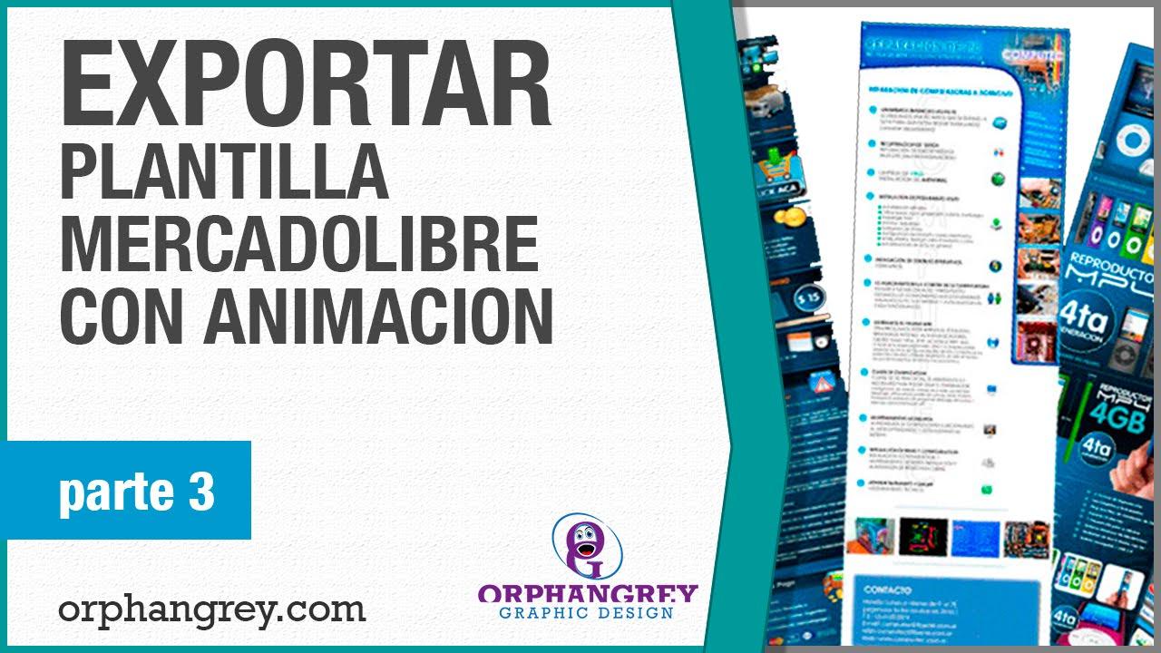 Exportar Plantilla Mercadolibre Con Animacion | GIF Animados Part 3 ...