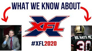 What We Know About the XFL 2020
