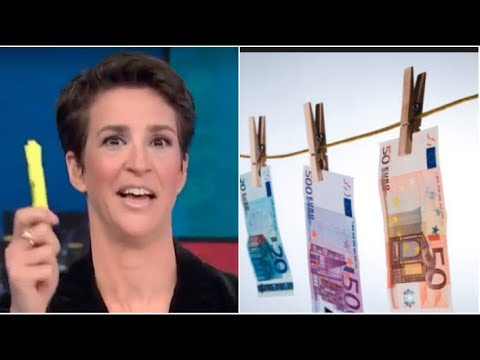 Trump Ties To Money Laundering - The Russian Laundromat Exposed || MSNBC Rachel Maddow