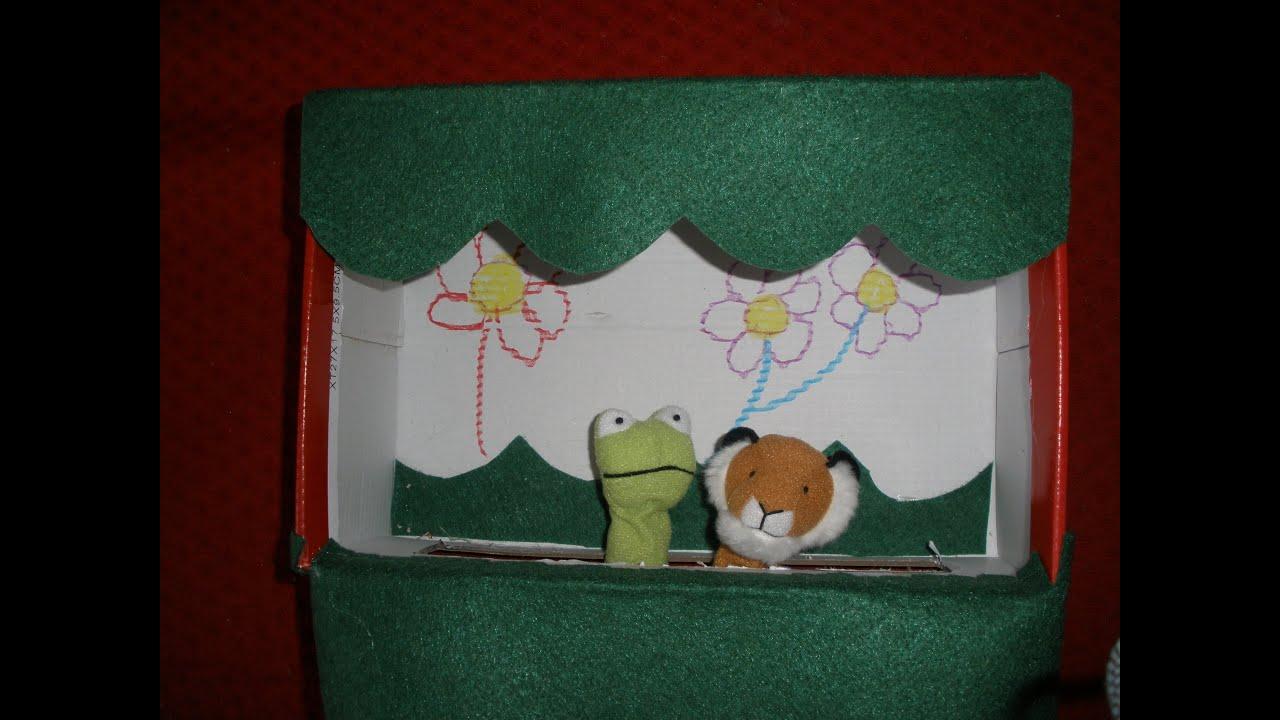 Caja Marionetas Como Teatro Con Hacer ZapatosManualidadesCraftsDiy De Un kXuiZOP