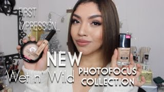 First Impression: NEW Wet N' Wild Photofocus Collection