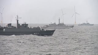 BALTIC SEA!  NATO Deploys 5 Warships in Response to Maneuvers by Russian Troops!