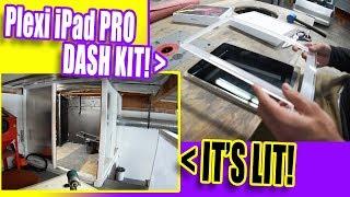 iPad PRO dash kit, paint room lights!, closet door! - Shop Improvement #12