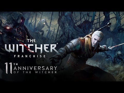 11th anniversary of The Witcher Stream | W1 & W2 gameplay