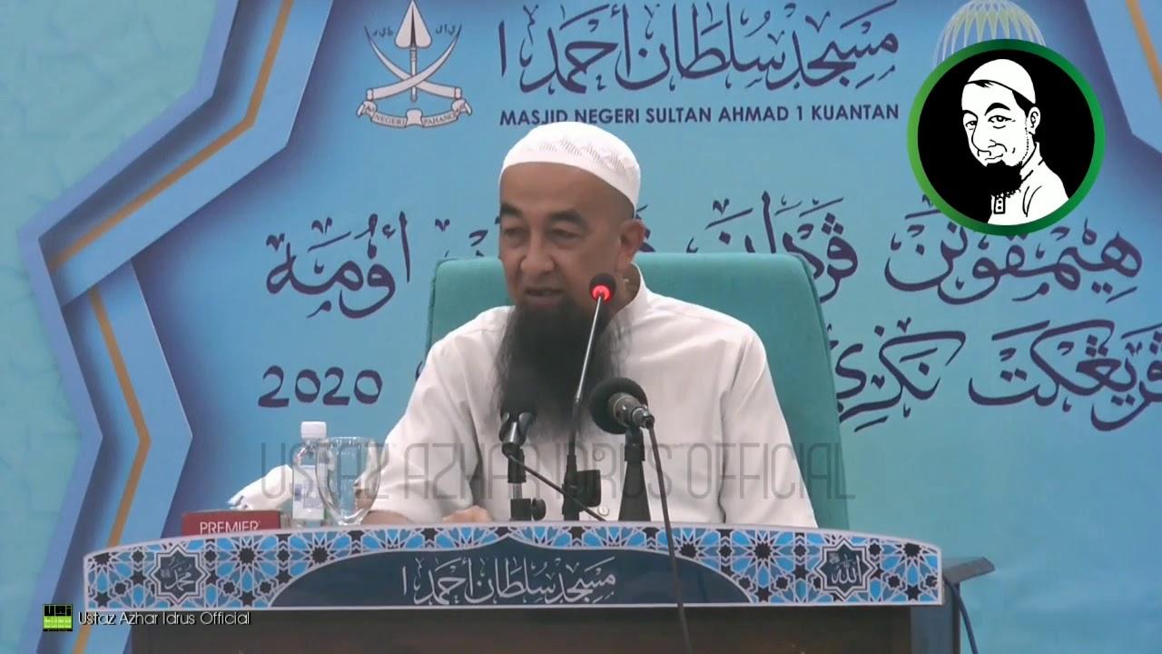Mengucap Dua Kalimah Syahadah Ustaz Azhar Idrus Official Youtube