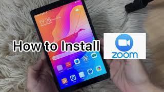 How to: Install ZOOM on HUAWEI screenshot 3