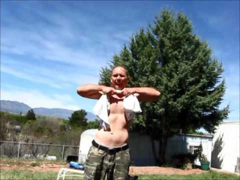 Steel Bender's Helper™ Burn Out Workout, Chest Crush Variation