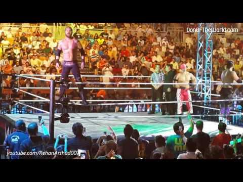 WWE Jeddah | October 09, 2015 | Chris Jericho,  John Cena, Seth Rollins