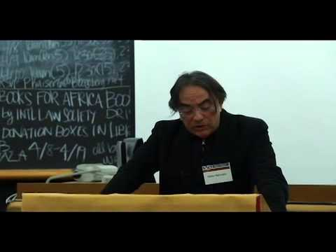 "Natan Sznaider - ""From Holocaust to Genocide and Back: Raphael Lemkin and the Jewish Experience"""