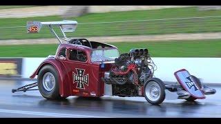 full throttle friday ihra drag racing highlights at sydney dragway
