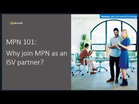 MPN 101: Why join MPN as an ISV Partner?