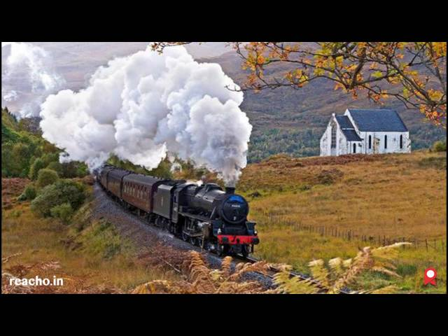 Harry Potter's Jacobite Train Journey