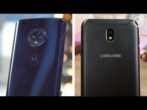 Motorola Moto G6 vs Galaxy J7 Pro | Comparativo!