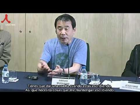 Murakami Haruki Interview in Spain(Sub.in Spanish) by shin sung hyun