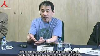 Murakami Haruki Interview in Spain(Sub.in Spanish) by shin sung hyun