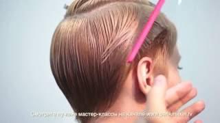 Стрижка коротких волос How to cut short hair. parikmaxer.tv