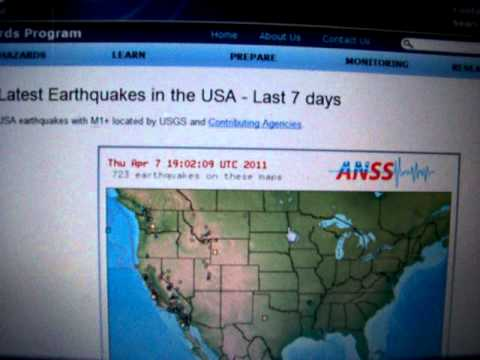 4-7-2011 Seismic Watch, Central America, WA State, Strange Light Reported Near Japan Earthquake