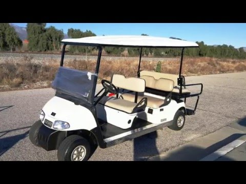 6 Passenger EzGo RXV Golf Cart Rental in Orange County, CA 9