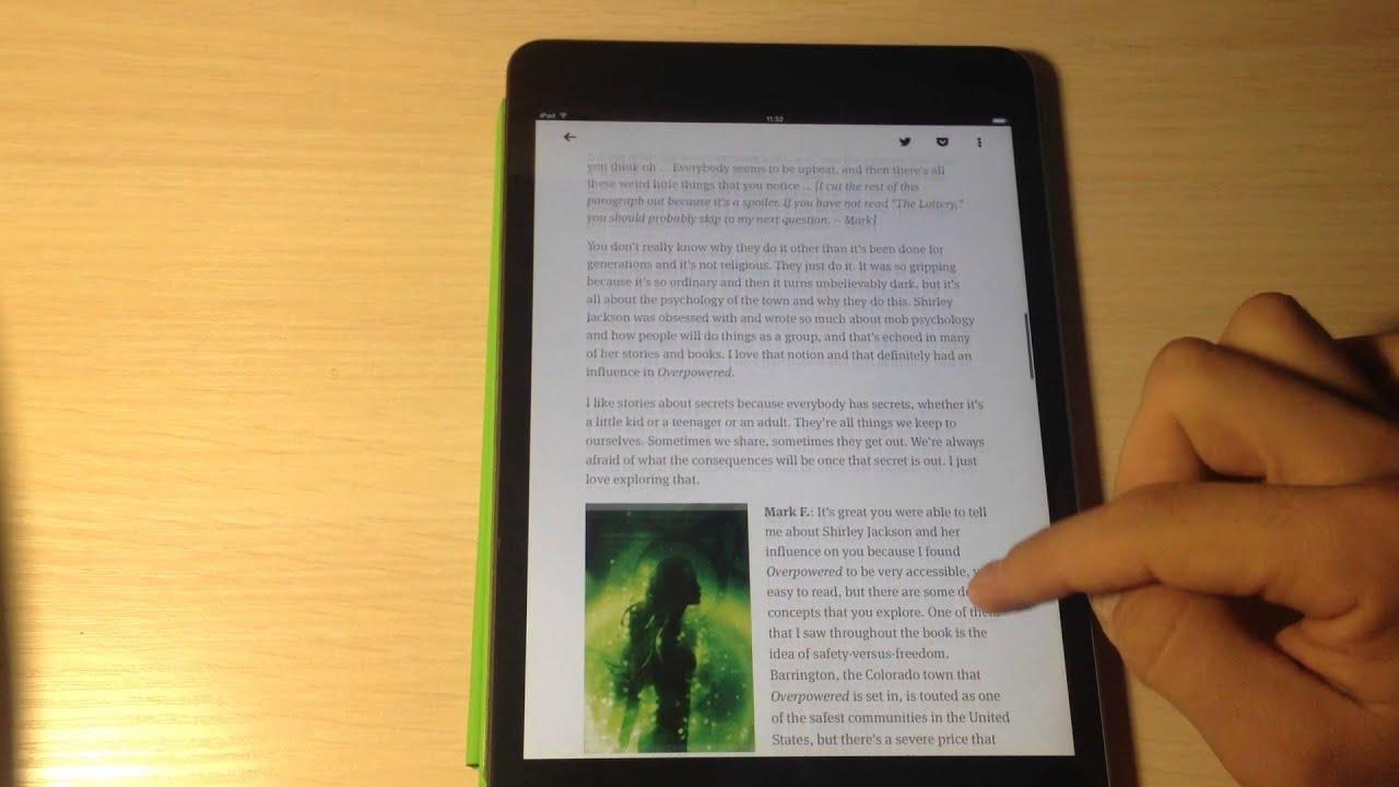 Как правильно читать Feedly на iPad