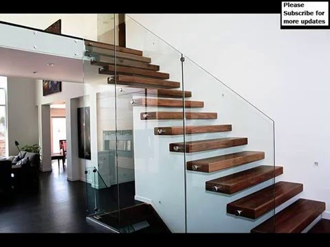 Thrissur Modern Staircase Glass Railing Designs Staircase