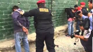 Caen extorsionadores en Huaycán