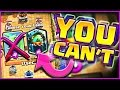 YOU CAN'T USE THAT • Clash Royale • ONLY USE THE LEFT!