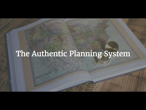 Authentic Planning System -- How I Plan My Authentic Business Vision