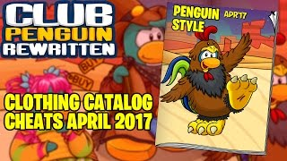 club penguin rewritten april 2017 clothing catalog cheats