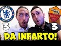 DA INFARTO    CHELSEA ROMA 3 3   JUVENTUS SPORTING LISBONA 2 1