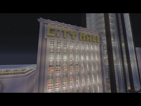 Minecraft Gotham City: City Hall