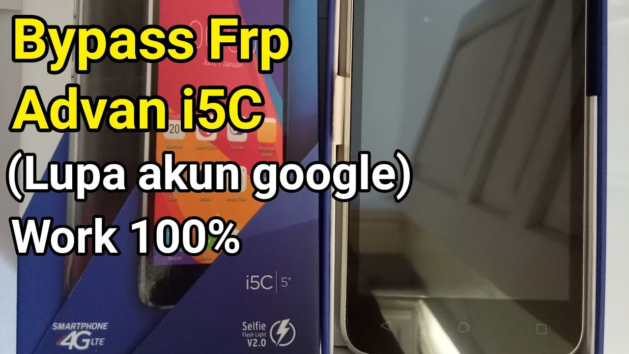 Advan I5c Cara Bypass Frp Google Account Android 6 Marshmallow