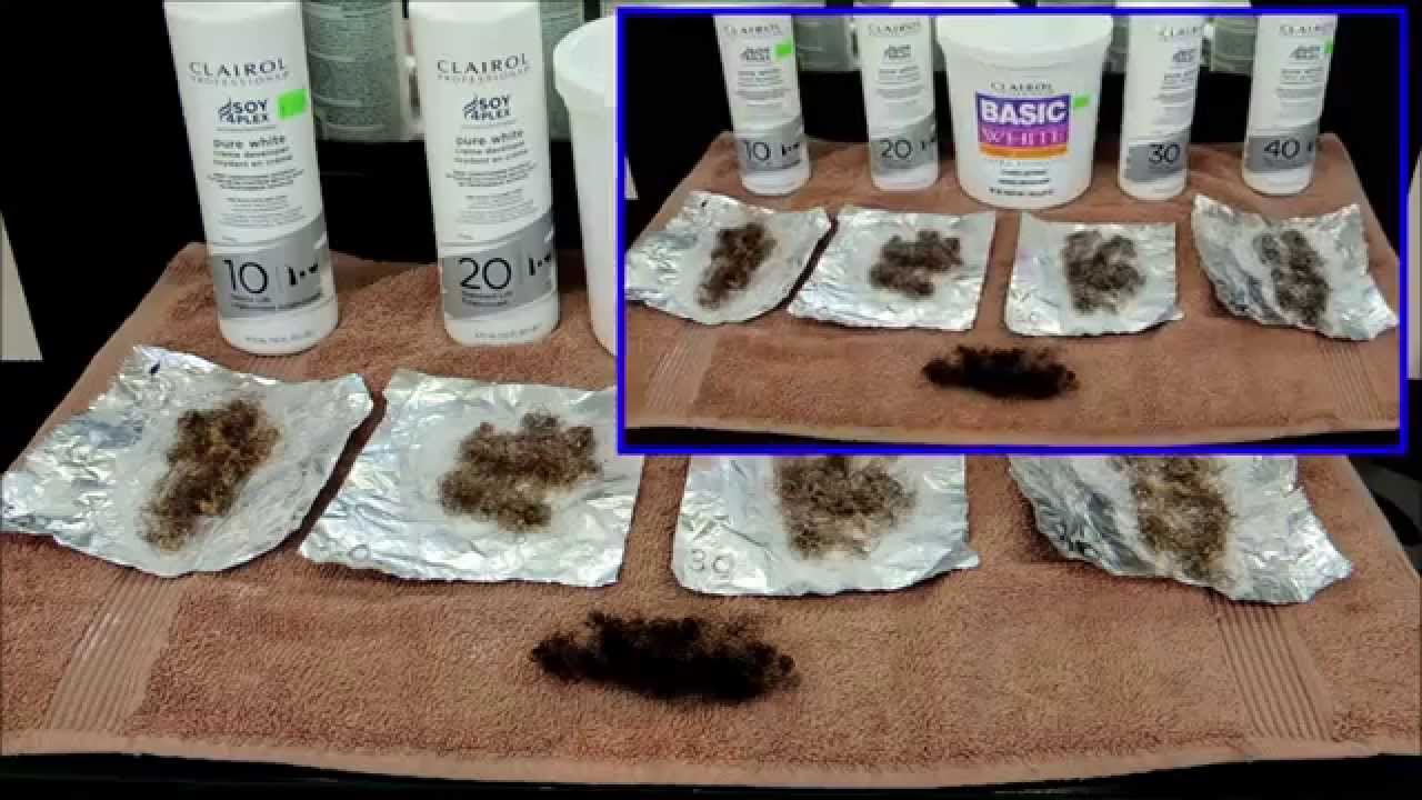 Natural Hair Products For Bleached Hair