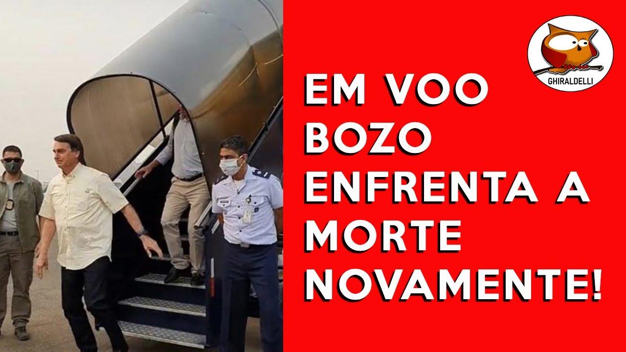 EM VOO BOZO ENFRENTA A MORTE NOVAMENTE!