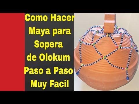 Como Hacer Maya Para Sopera De Olokum Paso A Paso Muy Facil