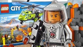 Wulkan, LEGO City, Badacze wulkanów(Filmie prezentowaliśmy: - 60124 BAZA BADACZY WULKANÓW - 60123 HELIKOPTER DOSTAWCZY ~ http://www.zabawkowicz.pl ..., 2016-09-06T19:15:52.000Z)