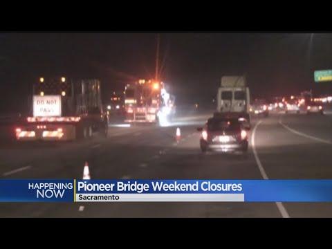 Pioneer Bridge Lanes Closed, Creating Traffic Mess On Highway 50