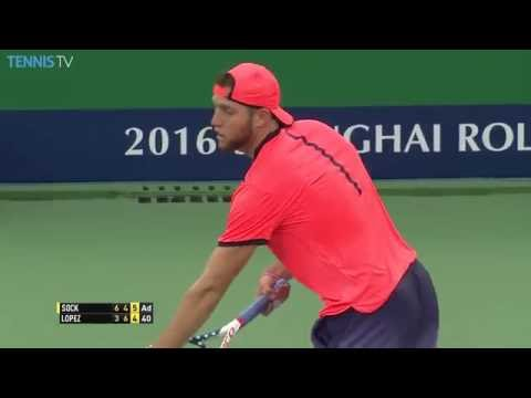 Lopez Gets Out Of Trouble In Shanghai 2016 Hot Shot
