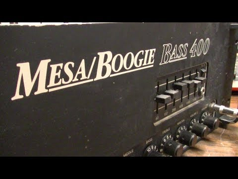 Does Mesa Boogie Intentionally Falsify Schematics? EVIDENCE INSIDE! Bass 400 Service Postmortem