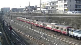 9285レ EF65-2090牽引 西武鉄道247F 甲種輸送 新秋津→東所沢