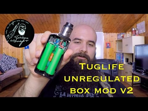 Tuglife Unregulated Box Mod V2
