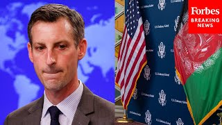 State Department Can't Answer Whether They've Gotten Anyone Out Of Afghanistan Since Aug. 31st