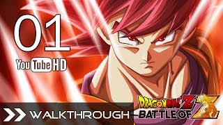 Dragon Ball Z Battle of Z Walkthrough Gameplay - Part 1 Saiyan Saga: Opening English No Commentary