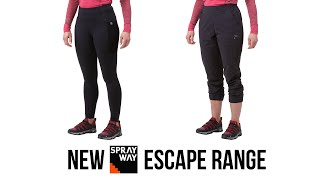 SPOTLIGHT: Sprayway - Escape Cropped and Leggings