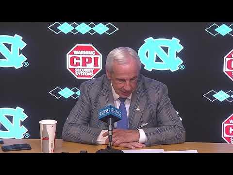 UNC Men's Basketball: Roy Williams Post Miami Press Conference