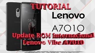 TUTORIAL: REINSTALAÇÃO DE ROM NOLENOVO VIBE A7010 (STOCK ROM)